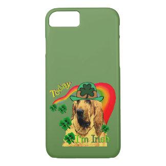 Capa iPhone 8/ 7 Dia de São Patrício bonito do Bloodhound