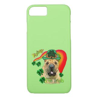 Capa iPhone 8/ 7 Dia de Shar-Pei St Patrick do chinês
