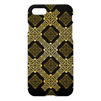 Capa iPhone 8/7 diagonal do ouro de f
