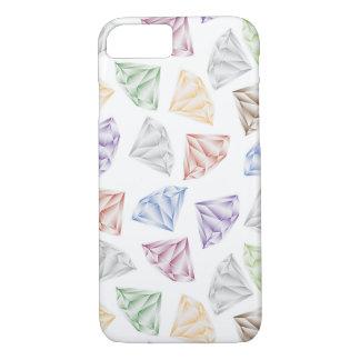 Capa iPhone 8/ 7 Diamantes coloridos para meu querido