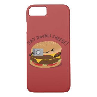 Capa iPhone 8/ 7 Diga o queijo dobro!
