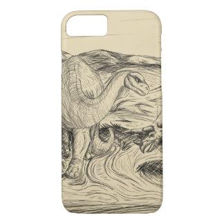 Capa iPhone 8/ 7 Dinossauros clássicos