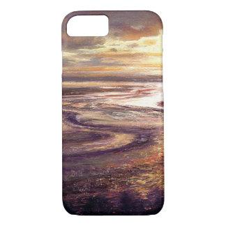 """Capa iPhone 8/ 7 Do """"capa de telefone do redemoinho do por do sol"""