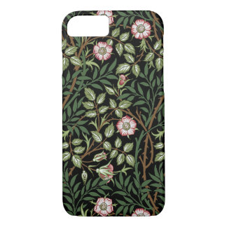 Capa iPhone 8/ 7 Do vintage doce do Briar de William Morris teste