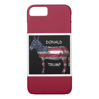 Capa iPhone 8/ 7 Donald Trump - que asno