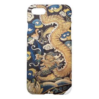 Capa iPhone 8/7 Dragão azul imperial