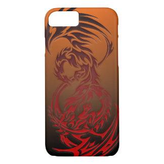 Capa iPhone 8/ 7 dragão CONTRA o caso do iPhone 7 de phoenix