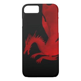 Capa iPhone 8/ 7 Dragão vermelho