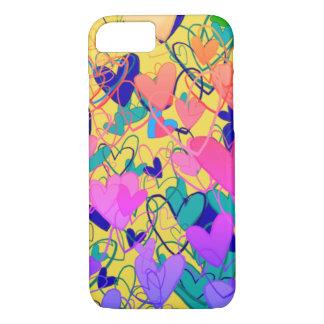 Capa iPhone 8/ 7 Dramático brilhante artístico colorido ornamentado