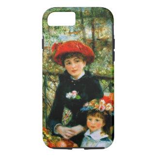 Capa iPhone 8/ 7 Duas irmãs no terraço