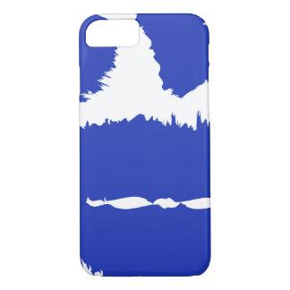 Capa iPhone 8/ 7 E cobrir azul 8/7 do iPhone