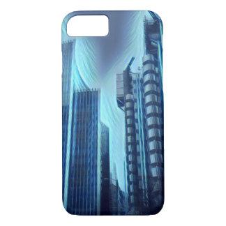 Capa iPhone 8/ 7 Efect elétrico da arquitetura da cidade de Londres