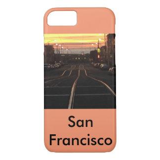 Capa iPhone 8/ 7 Eléctrico do por do sol à praia