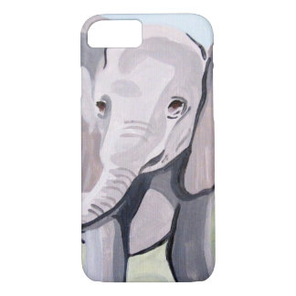 Capa iPhone 8/ 7 Elefante do bebê (arte de Kimberly Turnbull)