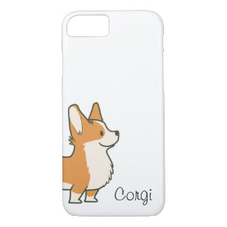 Capa iPhone 8/ 7 Embalagem do iPhone 7 do Corgi