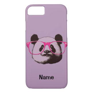 Capa iPhone 8/ 7 Engraçado bonito dos ursos de panda personalizado