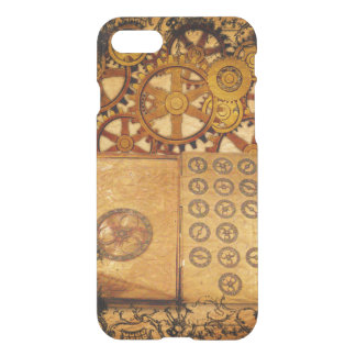 Capa iPhone 8/7 Engrenagens de Steampunk do Grunge