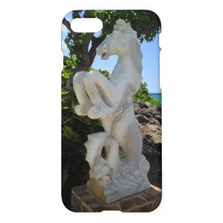 Capa iPhone 8/7 Escultura do Mar-Cavalo, Waikoloa, Havaí