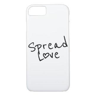 Capa iPhone 8/ 7 Espalhe o amor