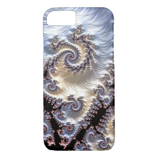 Capa iPhone 8/ 7 Espirais do Fractal da porcelana