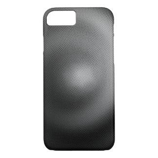 Capa iPhone 8/ 7 Espiral da partícula de B&W - iPhone de Apple 8/7