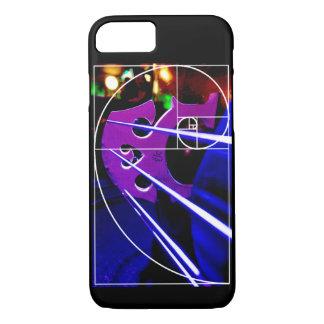 Capa iPhone 8/ 7 Espiral do violoncelo e do Fibonacci