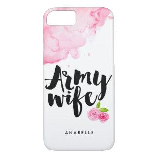 Capa iPhone 8/ 7 Esposa do exército