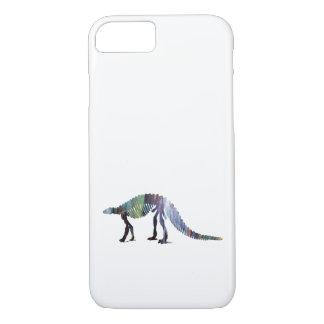 Capa iPhone 8/ 7 Esqueleto do dinossauro (Scelidosaurus)