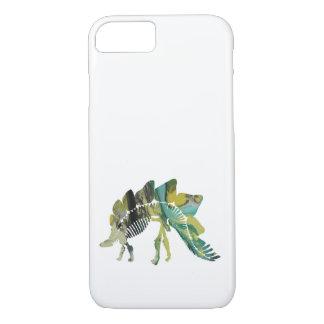 Capa iPhone 8/ 7 Esqueleto do Stegosaurus