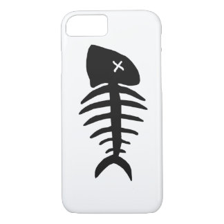 Capa iPhone 8/ 7 esqueleto inoperante dos peixes