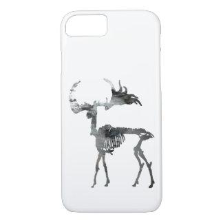 Capa iPhone 8/ 7 Esqueleto irlandês dos alces