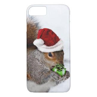 Capa iPhone 8/ 7 Esquilo do Natal