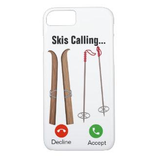 Capa iPhone 8/ 7 Esquis chamar… iPhone 7/8 de caso