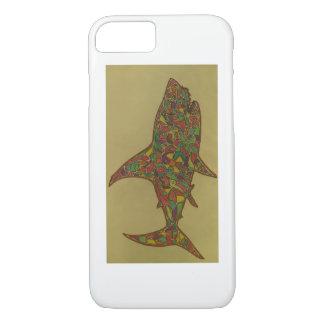 Capa iPhone 8/ 7 Esta é uma parte tirada da mão, sua um tubarão