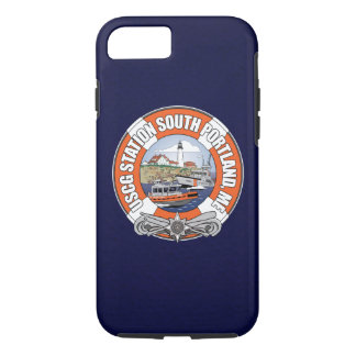Capa iPhone 8/ 7 Estação Portland sul Maine da guarda costeira