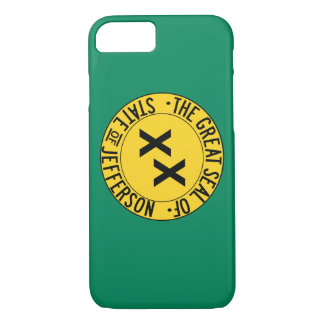 Capa iPhone 8/ 7 Estado de Jefferson - caso de Iphone 7