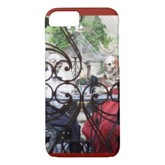Capa iPhone 8/ 7 Estilo do comensal do bairro francês