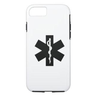 Capa iPhone 8/ 7 Estrela do paramédico do EMS EMT