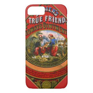 Capa iPhone 8/ 7 Etiqueta 1862 da medicina de patente