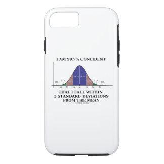 Capa iPhone 8/ 7 Eu sou a queda 99,7% segura dentro do colaborador