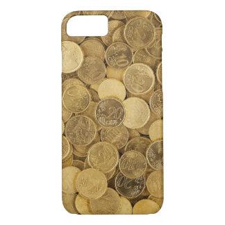 Capa iPhone 8/ 7 Euro- moeda