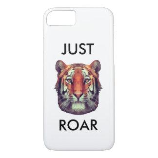 Capa iPhone 8/ 7 exemplo abstrato surpreendente do tigre do iPhone
