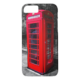 Capa iPhone 8/ 7 Exemplo da cabine de telefone de Londres (iPhone