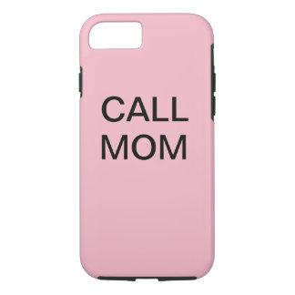 Capa iPhone 8/ 7 Exemplo da mamã da chamada de IPhone 7