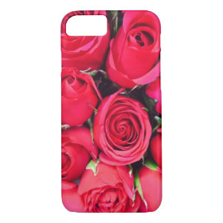 Capa iPhone 8/ 7 Exemplo da rosa vermelha