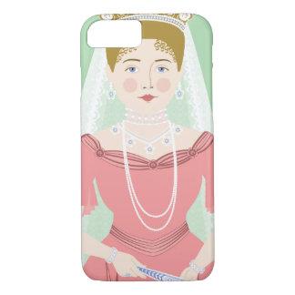 Capa iPhone 8/ 7 Exemplo de Alexandra Feodorovna Romanova