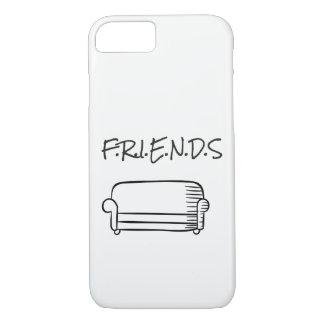 Capa iPhone 8/ 7 Exemplo de Iphone 7 dos amigos