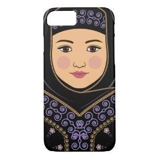Capa iPhone 8/ 7 Exemplo de Matryoshka do saudita