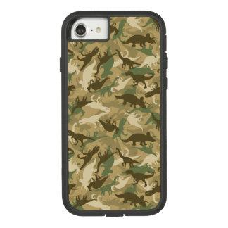 Capa iPhone 8/ 7 Exemplo do dinossauro da camuflagem