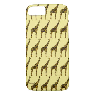 Capa iPhone 8/ 7 exemplo do girafa do iPhone 8